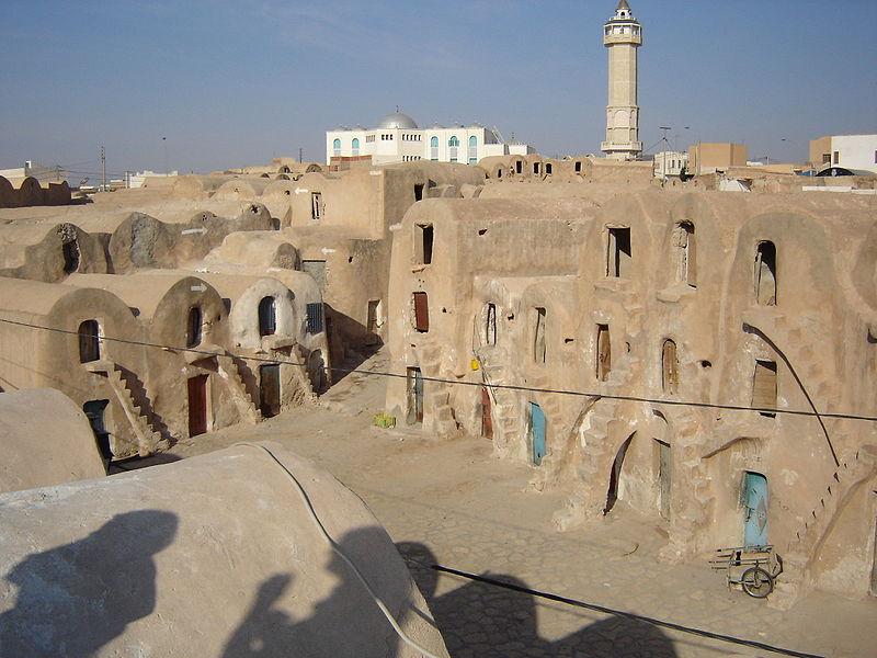 صور واحة تمغزة في تونس