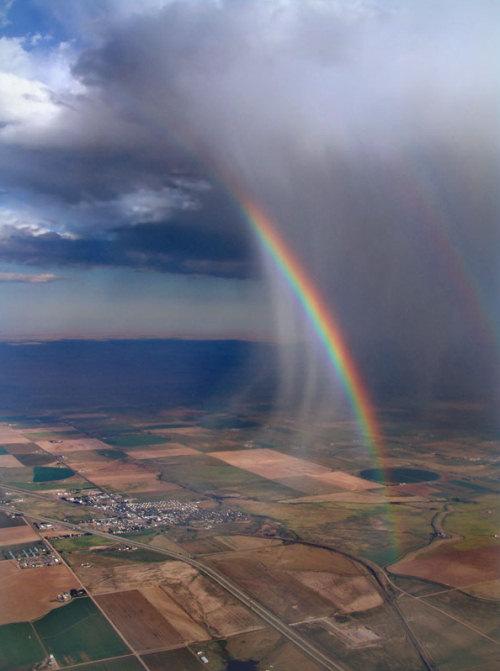 صور المطر - صور الندى - صور قوس قزح