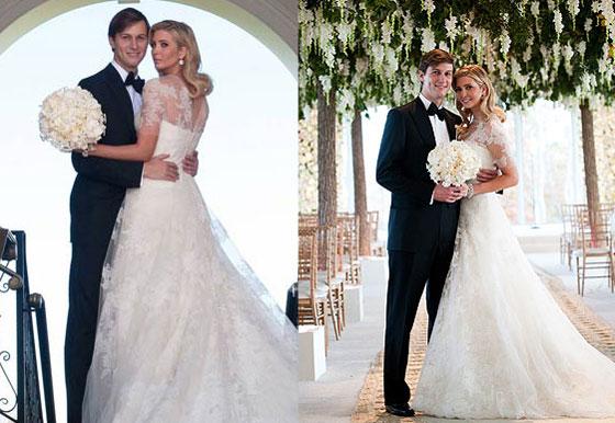 أفضل 9 نساء يرتدين ثوب الزفاف