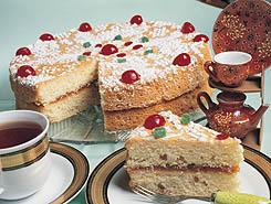 الكعكة الهشة