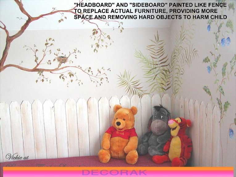 تزيين جدران غرف الاطفال