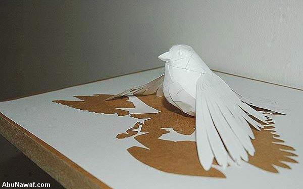 الفن في قص الورق