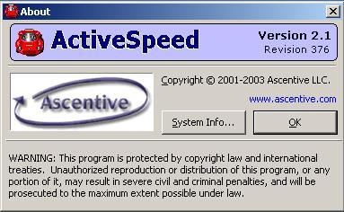 برنامج زيادة سرعة الانترنت ActiveSpeed