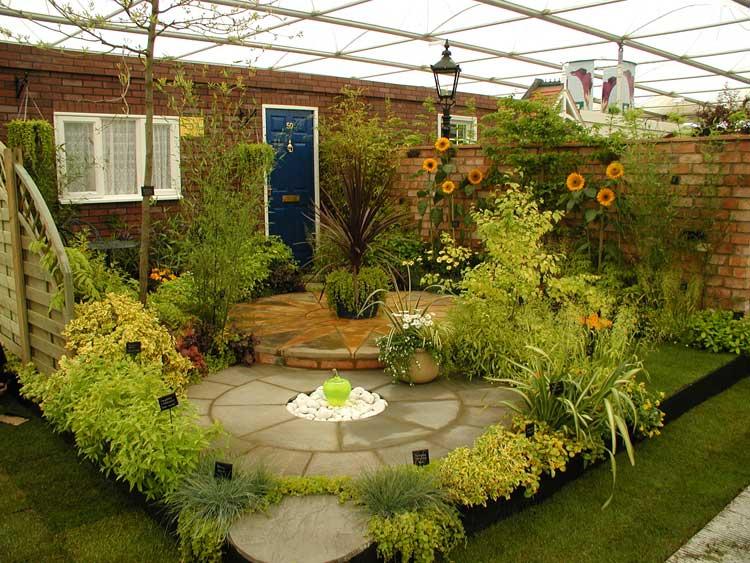 صور حدائق منزلية