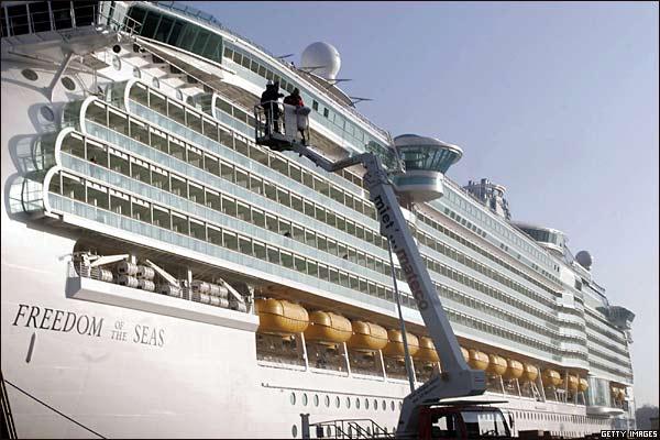 اكبر سفينة سياحية في العالم