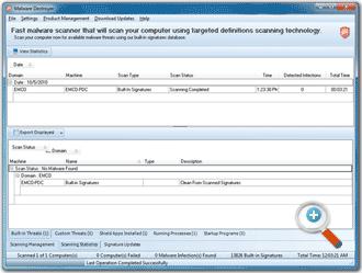 برنامج مكافحة البرامج الضاره والفيروسات EMCO Malware Destroyer