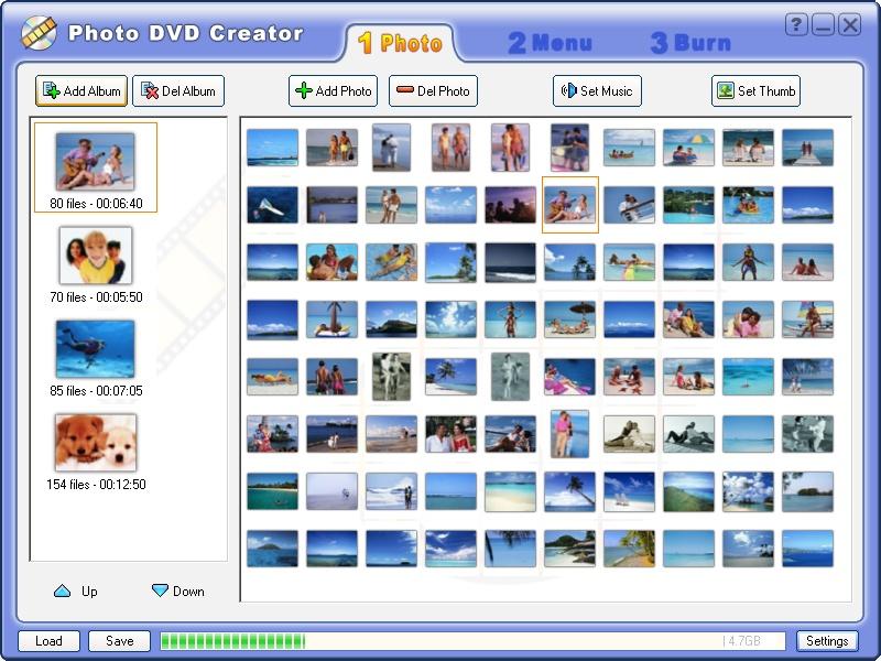 برنامج عمل عروض رائعه للصور Photo DVD Creator