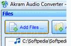 برنامج تحويل صيغ الملفات الصوتيه Akram Audio Converter