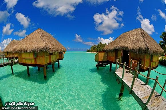 جزيرة بورا بورا اجمل جزيرة فى العالم