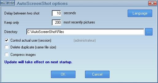 برنامج التقاط صور سطح المكتب في وقت معين AutoScreenShot