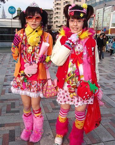 ستايلات يابانية غريبة في ساحة (هاراجوكو)