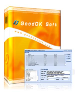برنامج تحويل ملفات فيديو بي اس بي GoodOk PSP Video Converter
