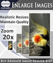 برنامج تكبير الصور Reshade