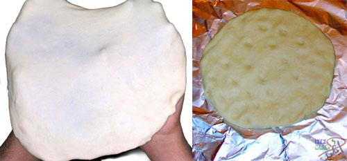خبز الصاج - طبق رجالي