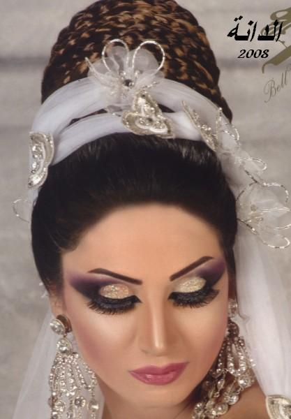 الخبيره إيمان السيد ومكياج عروس 2008