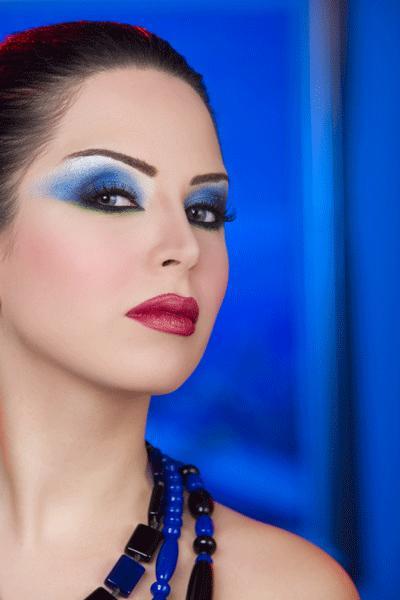 صور مكياج خبيرة التجميل رانيا ابو السعود