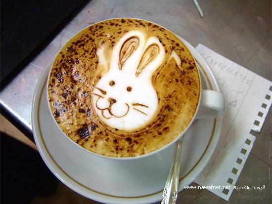 فن الرسم على الكابتشينو ..( لمحبين القهوة )