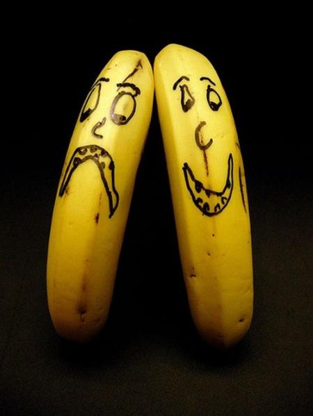 صور الرسم على الموز