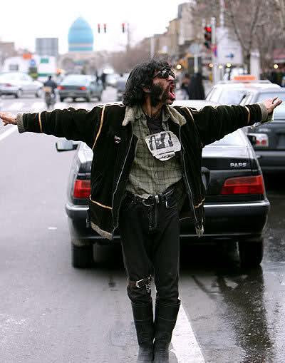مايكل جاكسون إيران (صور ههههه )