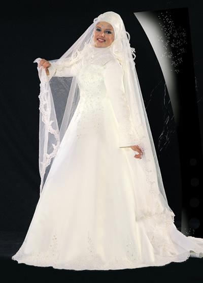 أجمل فساتين الأعراس للمحجبات