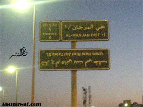 صورة لوحة شارع رهيبة