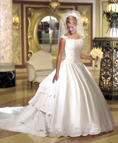 6d764d3d0bdce فساتين زفاف بكل الأذواق قمة في الجمال - منتديات عبير