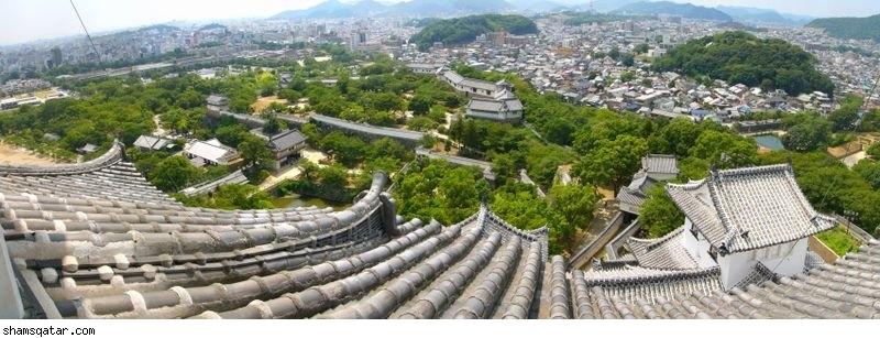 قصر اللقلق الابيض في اليابان