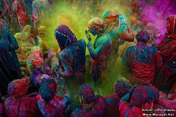 عيد الالوان في الهند