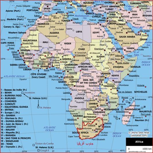 رحلة: To South Afr!ca