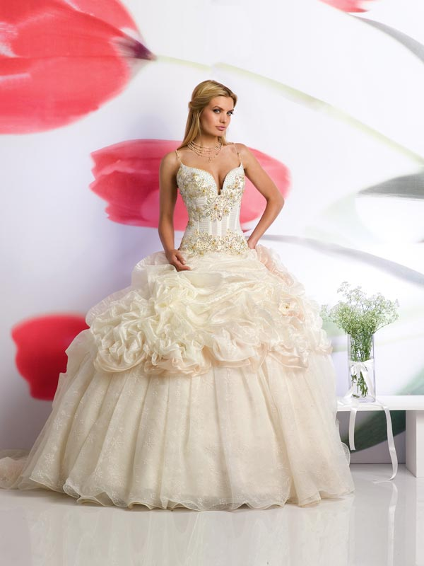فساتين زفاف , اجمل موديلات فساتين الزفاف