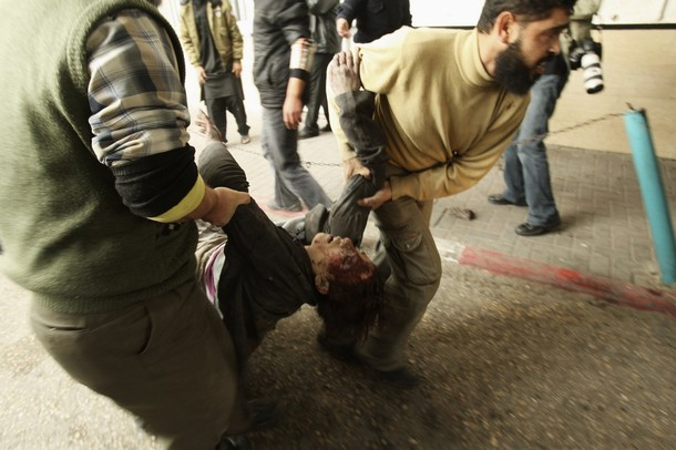 صور من غزة ..ان كنت بلا ضمير فلا تضع ردا