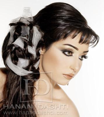 مكياج و تسريحات خبيرة التجميل الكويتية حنان دشتي للعرايس 2009 بالصور