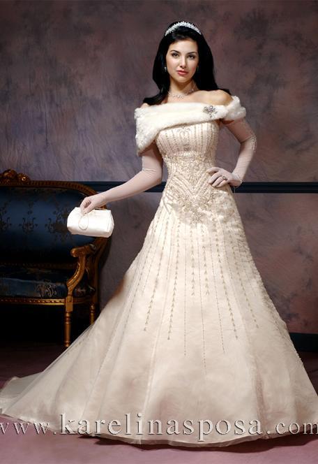 فساتين زفاف , فساتين فخمه وانيقة للزفاف