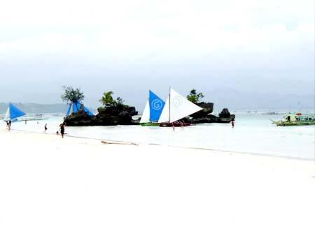جزيرة بوراكي الساحره