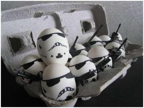 حركات البيض في المطبخ