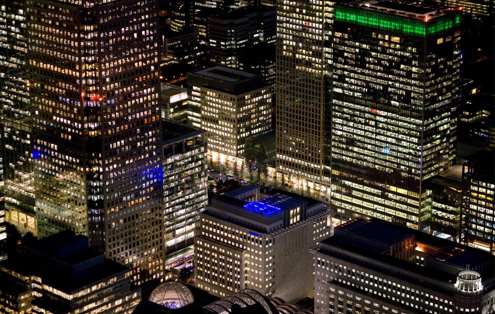 صور ليلة من سماء London