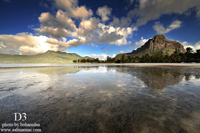 جزيرة موريشيوس من أوساط المحيط الهندي