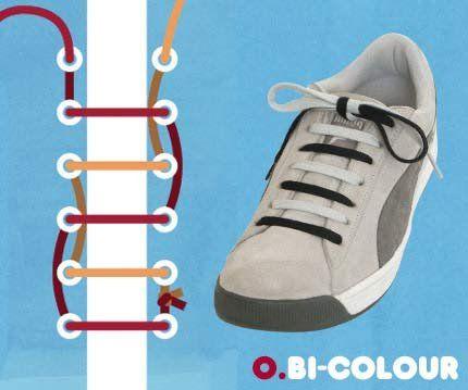 فن ربط الحذاء