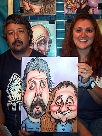 رسام كاركتيري ساخر
