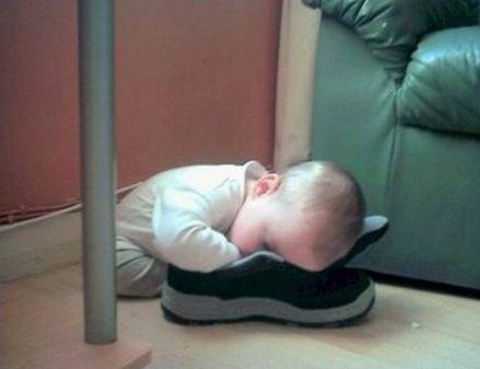 لا عوائق امام نوم الاطفال
