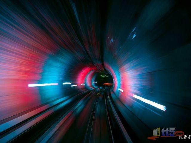 أجمل نفق قطارات في العالم ....