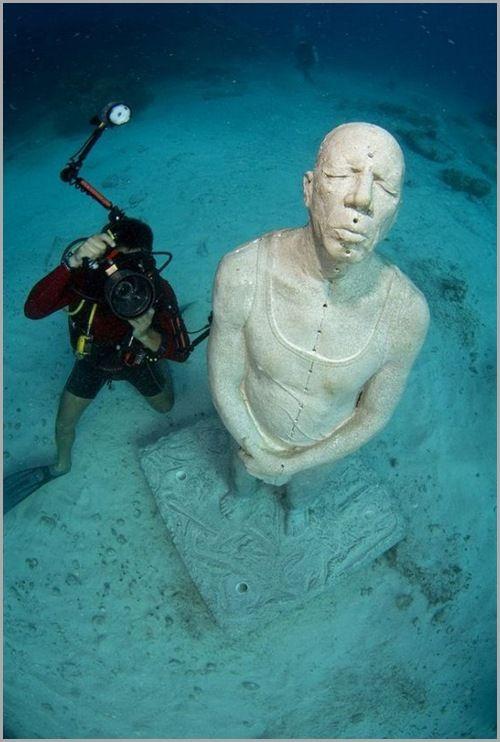 متحف تحت الماء في المكسيك