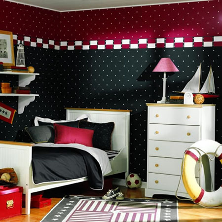 Rooms for girls and boys
