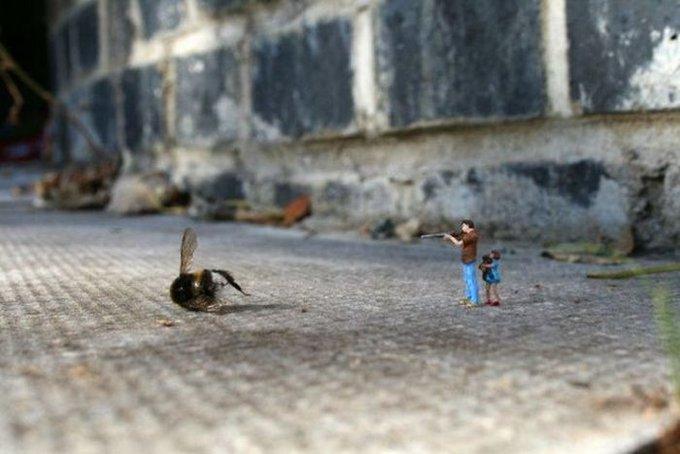 تخيل انك نملة؟