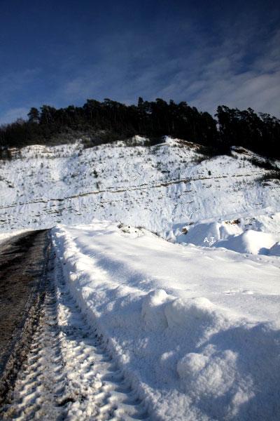 رحلتنا إلى الجبل الأبيض (القطب المنجمد) في ماربورغ 29 ديسمبر 2010
