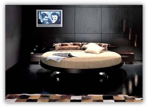 غرف نوم دائرية الشكل (2011)اناقة وفخامة