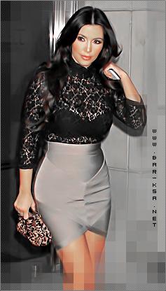 ستايل Kim Kardashian