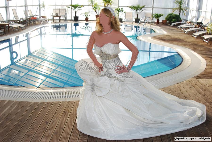 فساتين زفاف جميله جدا 2012