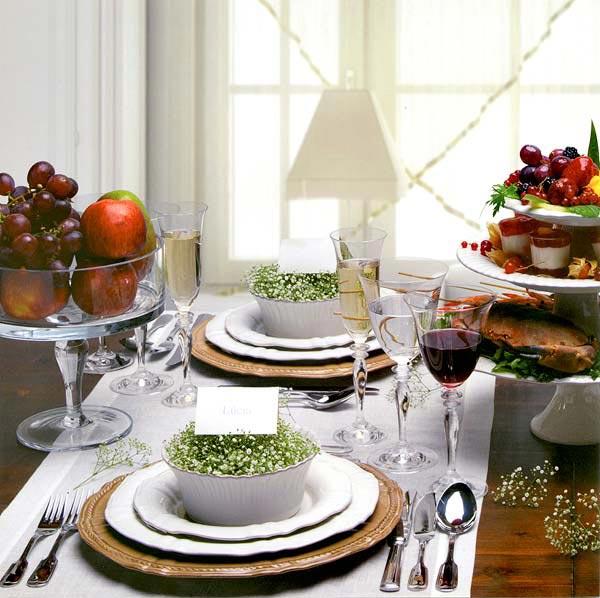 ديكور للطاولات لبعض المناسبات الخاصة في المنزل