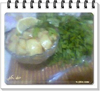 مشاركتي سلطة البطاطس , سلطة رمضانية ,